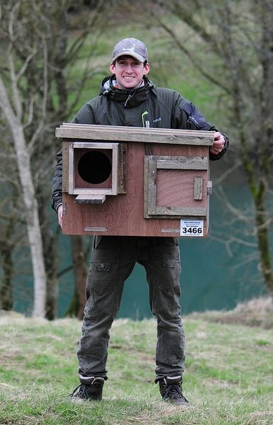 Owl Nesting Box uk Barn Owl Nest Box Made From